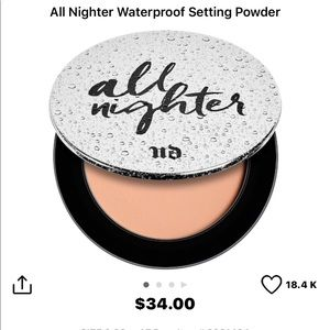 Urban Decay Makeup - Setting powder